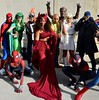 DSC_0656 (Randsom) Tags: newyorkcomiccon 2017 october7 nycc comic convention costume nyc javitscenter marvel superhero marveluniverse spiderman hero mask avengers xmen mutant cyclops emmafrost scarletwitch group team polaris lornadane mutants lukecage groot ghostrider cosplay