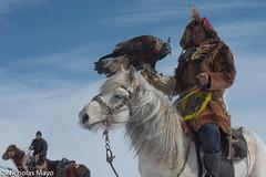 The Eagle Hunter (Nick Mayo/RemoteAsiaPhoto) Tags: mongolia hunting horse bayanölgii kazakh eagle ulaakhus bayanolgii