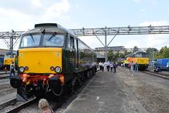 GWR 57604 and CR 56049 @ Old Oak Common Depot (ianjpoole) Tags: great western railway class 57 bodysnatcher 57604 pendennis castle colas rail 56 grid 56049 old oak common open day 2017