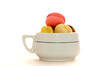 sunday macarons 15/31 (sure2talk) Tags: sundaymacarons macarons onwhite highkey sweet treat cup nikond7000 nikkor50mmf14gafs flash speedlight sb900 offcamera diffused softbox backlit october2017amonthin31pictures weekendassignmentandcontest