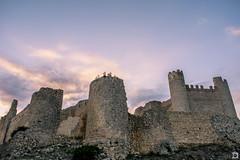 Castell de Xivert ([Nelooo]) Tags: castillo ruinas atardecer murallas torres cielo nubes xivert alcalá