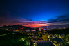 Guanyin mountain (linchingyao) Tags: night citycape river canon6d canon bluetime red blue seascap nature