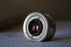Argus Coated Cintar Lens (rolandmks7) Tags: sonynex5n lens camera argus cintar 50mm f35 brick cooketriplet