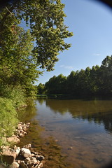 RoanokeRiverLaunchAtReserve (T's PL) Tags: kayaklaunch nikond7200 nikon d7200 nikondslr roanokeriver roanokeriverblueway roanokeva roanoke tamron18270mmf3563diiivcpzd tamron18270 tamron nikontamron trees virginia va water thelaunchatreserve tree sky river foliage rocks