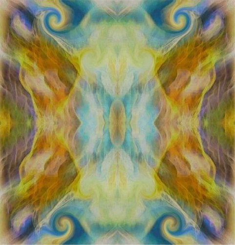 Butterfly Gateway-Chalk Pastel to Digital