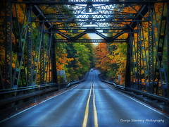 Quilcene Bridge Fall Colors (Explore 10.26.17) (George Stenberg Photography) Tags: washingtonstate quilceneriver fallcolors pacificnorthwest colors bridge hwy101