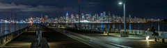 Vancouver Nightscape-8 (Robert Henrickson) Tags: vancouver lonsdalepier lonsdalequay nightphotography nightscapes nightlights cityscapes citylights pacificnorthwest bcplace northshore northvancouver longexpoosure