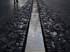stepping away (Cosimo Matteini) Tags: cosimomatteini ep5 olympus pen m43 mft mzuiko45mmf18 london morelondon water stone feet person steppingaway