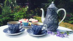DSC02720-002 (suzyhazelwood) Tags: garden gardens summer sony a6000 teaparty teapot teacup tea food flowers cakes cupcakes sunlight uk england creativecommons