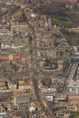The Royal Mile from the air (Chris_Hoskins) Tags: aerialphotography scottishlandscape wwwexpressionsofscotlandcom scottishlandscapephotography landscape centralscotland edinburgh scotland