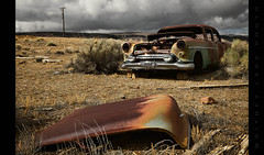 It Seemed Like We Lost Before We Ever Got Started (Whitney Lake) Tags: goldfield nevada desert decay rusty chevy automobile car abandoned