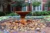 Bubbler Fountain 001 (Val Hightower) Tags: fountain bubblerfountain courtyard residencehalls hendrixcollege hendrix conwayarkansas conway arkansas