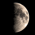 Moon Waxing Gibbous phase 28Oct2017 thumbnail