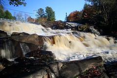Upper Rosseau Falls (Alcona1) Tags: waterfall cascade muskoka upperrosseaufalls nature whitewater chute rosseauriver river