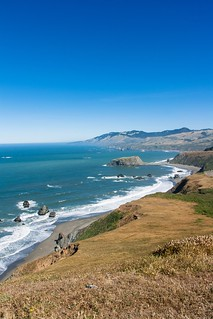 View towards Goat Rock from the Sonoma Coast