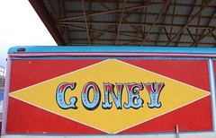 . (SA_Steve) Tags: coneyisland nyc ny brooklyn sign signage coney typography