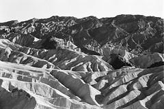 Zabriskie Point | Death Valley, USA | 2017 (Thomas Edward Osborne) Tags: zabriskiepoint deathvalley desert leicam6 summicron50mm trix bw
