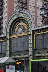 Gare de Bilbao-Concordia (FEVE, 1902), Bilbao, Biscaye, Pays Basque, Espagne. (byb64) Tags: bilbao bilbo biscaye viscaya bizkaia biscay biscaglia paysbasque euskadi euskalherria paisvasco espagne espana spain spagna spanien europe europa eu ue ciudad town city citta ville immeuble edificio abando estación estacióndebilbaoconcordia concordia bilbaoconcordia gare station gareferroviaire feve renfe 1902 modernisme éclectisme artnouveau belleepoque ferrocarriles cheminsdefer bahnhof