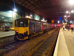 150106 Penzance (Marky7890) Tags: gwr 150106 class150 sprinter penzance railway cornwall cornishmainline train