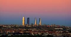 Skyline (vic_206) Tags: madrid skyline amanacer rascacielos sunrise