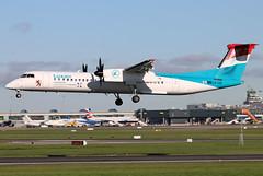 LX-LQI (GH@BHD) Tags: lxlqi bombardier dehavilland dhc dhc8 dhc8402q dhc8402ng lg lgg luxair dub eidw dublin dublinairport dublininternationalairport turboprop airliner aircraft aviation