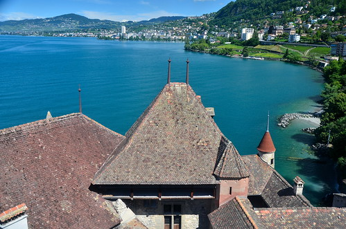 Château de Chillon and Lake Geneva