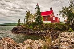 Eagle Harbor Lighthouse (Thomas DeHoff) Tags: lighthouse upper peninsula michigan sony a700 hdr eagle harbor mi