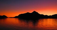 Anvil Island Sunset (21mickrange) Tags: porteaucoveprovincialpark anvilisland sunset 2007 dedicatedtothelaterichardjuryn britishcolumbia bc howesound coastmountains explore 269