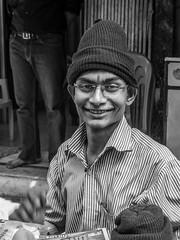Mumbai 2015 (hunbille) Tags: india mumbai bombay birgittemumbai2lr zaveri bazaar zaveribazaar bazar market hat