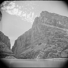 SMDR Photographic Negatives Collection, [1930s][West Texas Trip] (San Marcos Daily Record Negatives) Tags: westtexas landscape rivers water riogranderiver