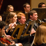 "<b>Homecoming Concert</b><br/> The 2017 Homecoming Concert, featuring performances from Concert Band, Nordic Choir, and Symphony Orchestra. Sunday, October 8, 2017. Photo by Nathan Riley.<a href=""//farm5.static.flickr.com/4455/37497389640_28571fa708_o.jpg"" title=""High res"">∝</a>"