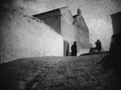 La Sombra (TommyOshima) Tags: 8mm film andalucia spain fujica zc1000 fujinon telecine 1992 monochorme silhouette