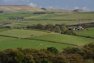 Barmoor Farm, Peak District National Park, Derbyshire, England.