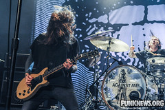 Against Me! at The Phoenix Concert Theatre, 10/06 (smcgillpunknews) Tags: againstme laurajanegrace