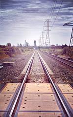 Train Tracks (-Simulacrum-) Tags: railway landcsape nikond5300 nikon sky creative traintracks