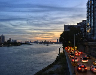 FDR Drive at Sunset