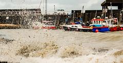 Rough sea at Viking Bay, Broadstairs (philbarnes4) Tags: water spray waves vikingbay broadstairs thanet kent england sea dslr nikond80 fishingboats boats vessels pier philbarnes
