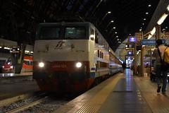 E444 101 Tartaruga (luciano.deruvo) Tags: tartaruga 444 ic intercity stazione milano trenitalia fs rfi