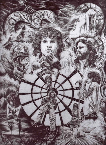 Jim Morrison-Pencil