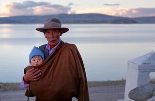 Blessed child, Tibet 2017