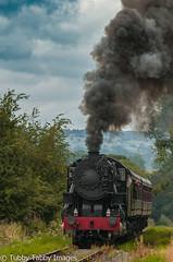 20170806-_CNH6858.jpg (bigbarney130) Tags: preserved staffordshire churnetvalleyrailway nikond300 s160 historictransport train preservedsteam heritage 5197 cvr steam