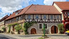 Königsberg in Bayern (wernerfunk) Tags: bayern architektur fachwerk