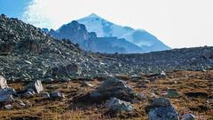 Nasz cel - szczyt Tetnuldi 4858m. (Tomasz Bobrowski) Tags: wspinanie mountains gruzja kaukaz góry tetnuldi caucasus georgia climbing