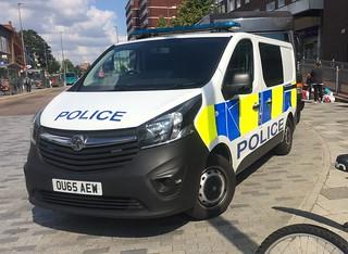 Hertfordshire Police Van