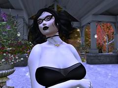 After Midnight (beccaprender) Tags: catwa catya maitreya lara magika vampire fangs boundelegance gizza lingerie