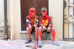 """""""non sudare"""" (Zioluc) Tags: luciobeltrami children kids colorrun colors street vasto"""