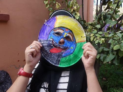 """Un masque : """" Bilmawn"""" (1)"""