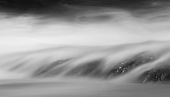Cloud Inversion-2, Freathy Cliffs (Mick Blakey) Tags: shoreline slowexposure tranquility cascading coastpath contours abstract mystical moody flowing sea vista contrast monochrome inversion coastal wave black cornwall dramatic foggy cornish cliffs minimal clouds blackwhite silky highlights serene coastline serenity freathy coast dreamy curves mist movement seascape fog misty whitsandbay surreal hanks mi