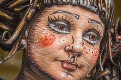 2017WLS-52 (stevefge) Tags: 2017 arnhem livingstatues worldlivingstatues people candid girl cartoon makeup schmink performers reflectyourworld street eyes