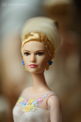 the beauty queen (photos4dreams) Tags: dolls22102017p4d barbie doll photos4dreams p4d photos4dreamz toy puppe movie film makeup disney cinderella gown dress kleid abendkleid ballkleid ball lilyjames brautkleid wedding marriage veil ring collectors collector